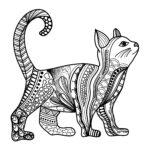 Katze Mandal komplett